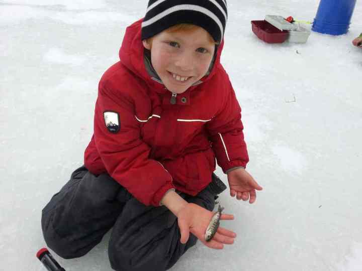 Pemberton Winterfest third place Ice Fishing derby