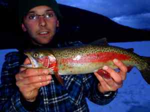 Blackwater Lake Ice Fishing Ice Report