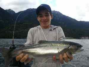 Anderson Lake fishing reports Sept 17 2013