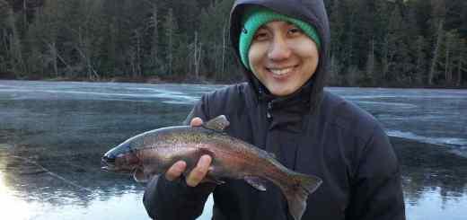 First Fish of the 2013/14 Ice Fishing Season