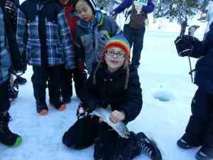 2014 Pemberton Winterfest Ice Fishing Derby at One Mile Lake
