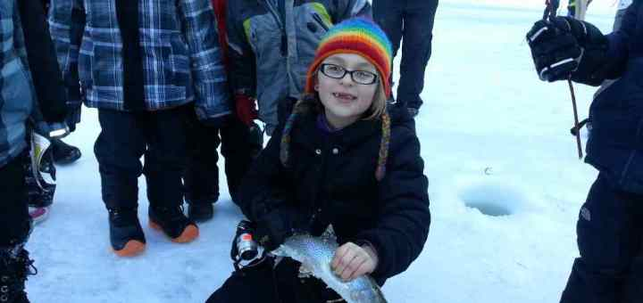 First Place Ice Fishing Derby