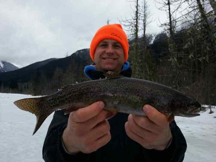 Blackwater lake fishing