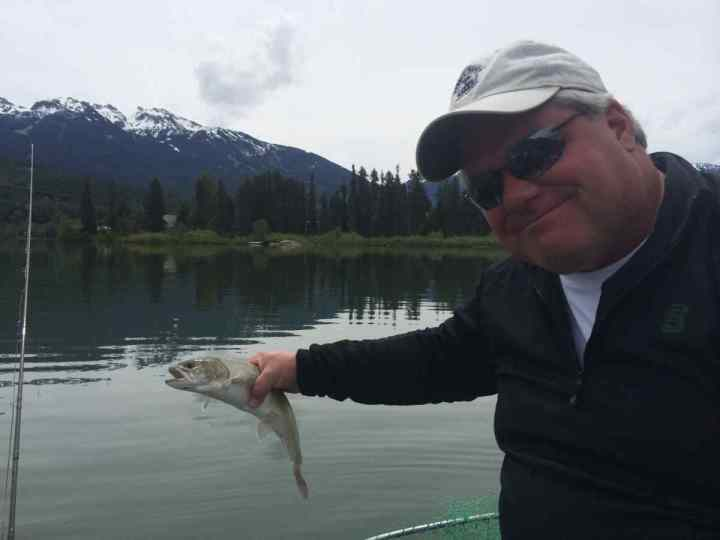Green Lake Whistler fishing