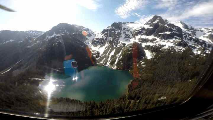 heli fishing  in BC