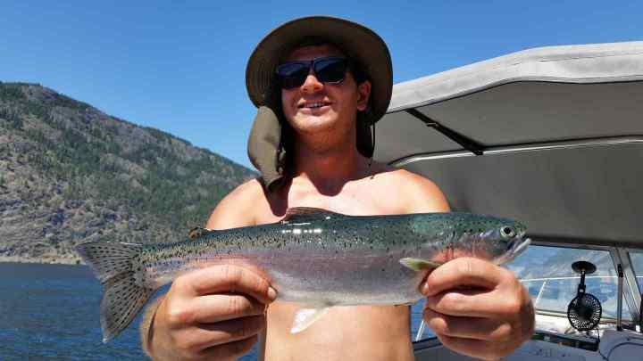 Rainbow Trot fishing BC