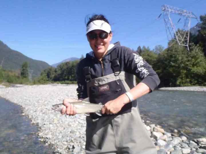Fly Fishing Tours in Whistler BC Canada