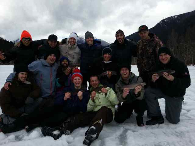 Whistler Ice Fishing Stag and Bachelor Parties