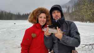 Great day ice fishing