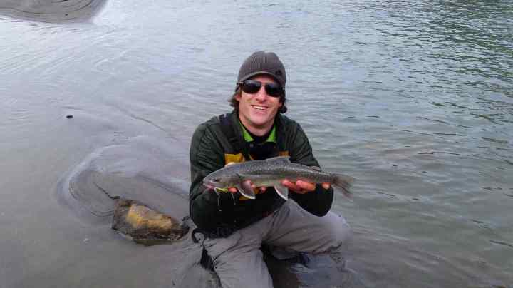 Fly fishing Pemberton BC