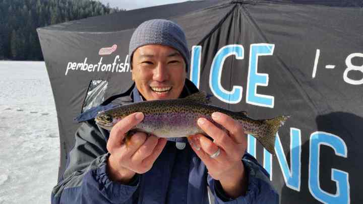Things to do in Pemberton BC Ice Fishing
