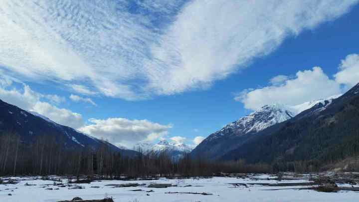 Scenery in the Whistler area