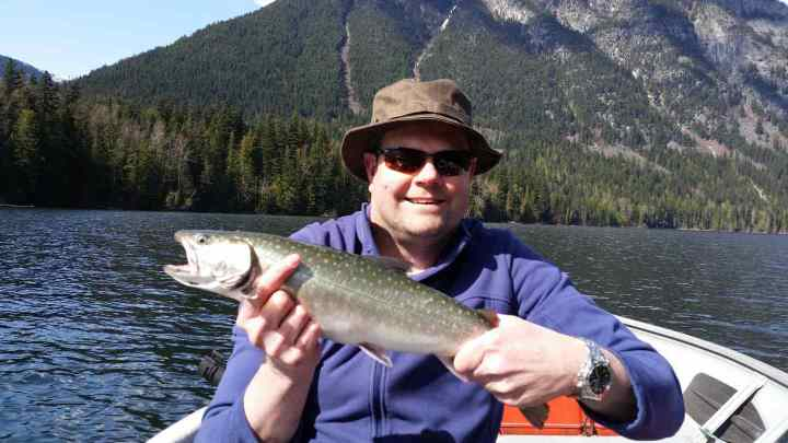 Lake fishing in Pemberton BC