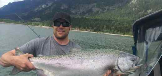 Salmon fishing in BC