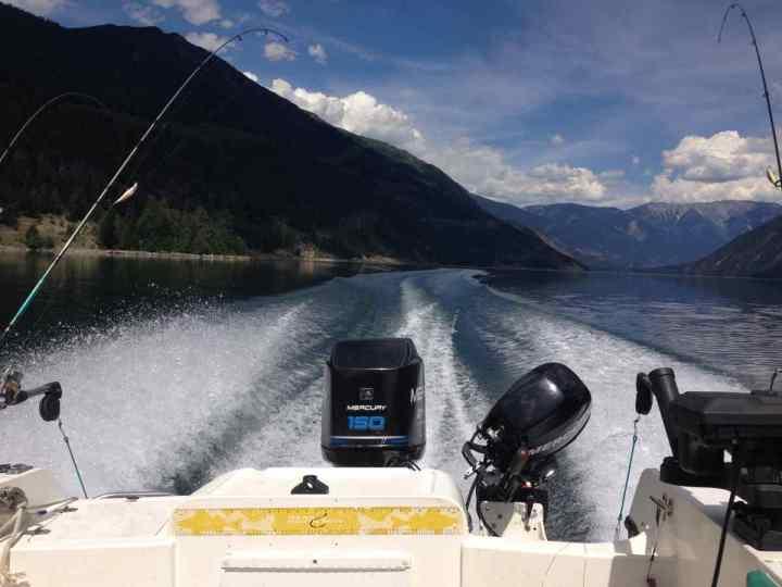 BC Freshwater fishing charters