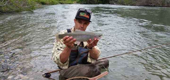 Fly fishing guides in Whistler BC