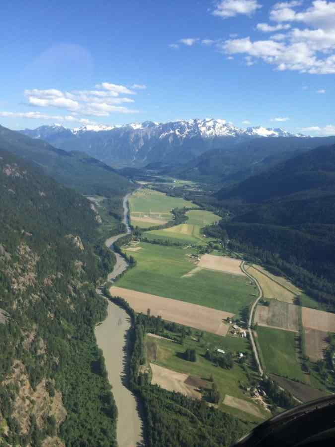 Pemberton Valley in British Columbia Canada