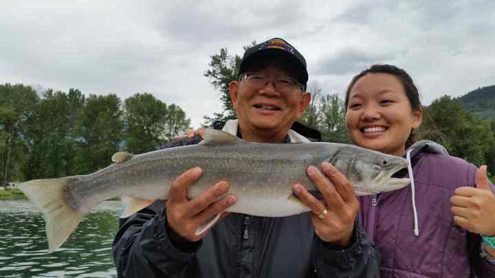 Quality family fishing in Whistler and Pemberton BC