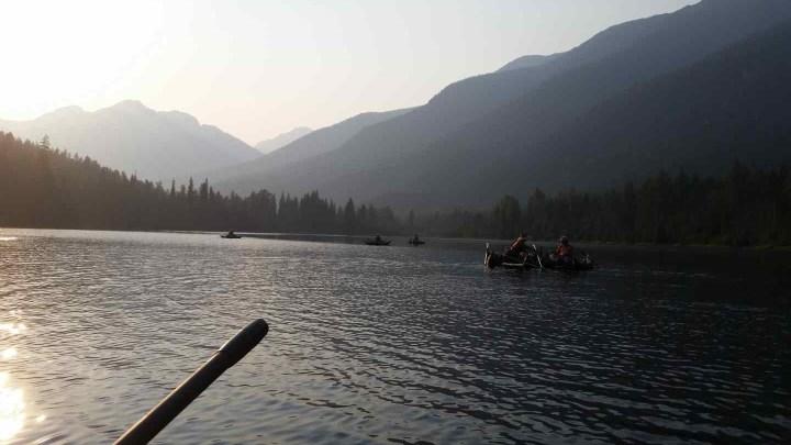 Fishing spots near Whistler