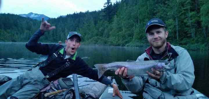 Fly Fishing Lakes in Whistler and Pemberton British Columbia