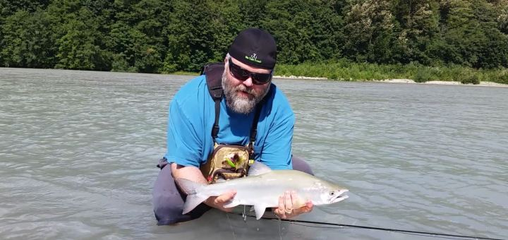 Pink Salmon Fly Fishing