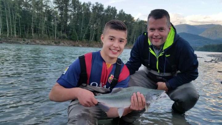 Family fishing trips in British Columbia Canada