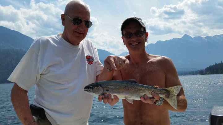 Father and son fishing trips in British Columbia