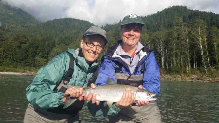 Pink Salmon fishing in Squamish BC