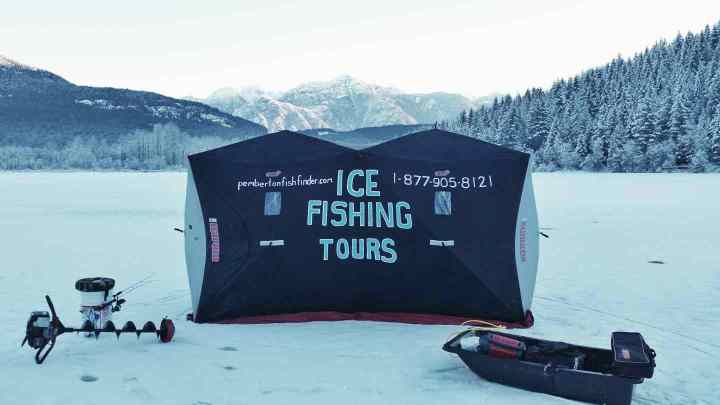 Ice fishing tours in Whistler BC