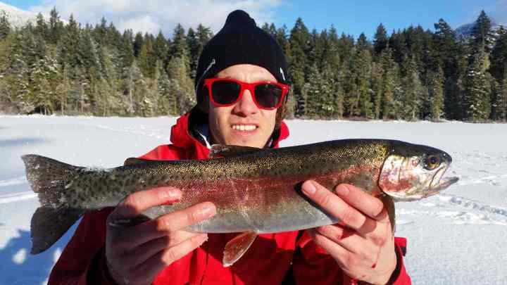 Whistler Winter Fishing