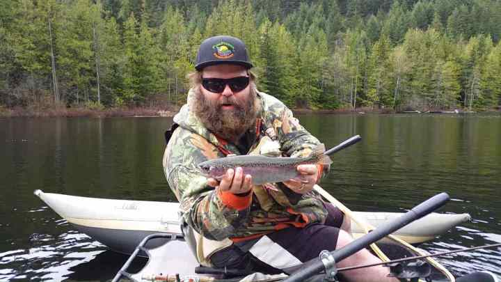Best fly fishing in Whistler BC