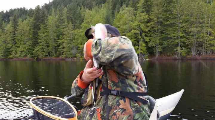 Getting fish slapped