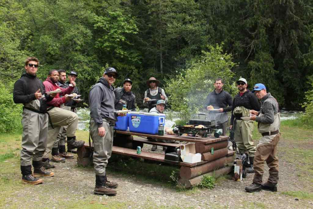 Tasty Lunch provided on Full Day Fishing tours