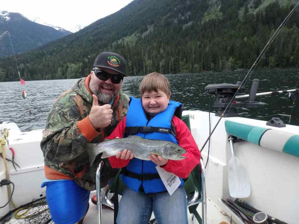 Boat Fishing in Whistler BC