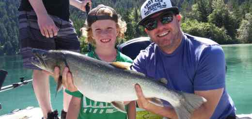 Guided Freshwater fishing trips Whistler British Columbia
