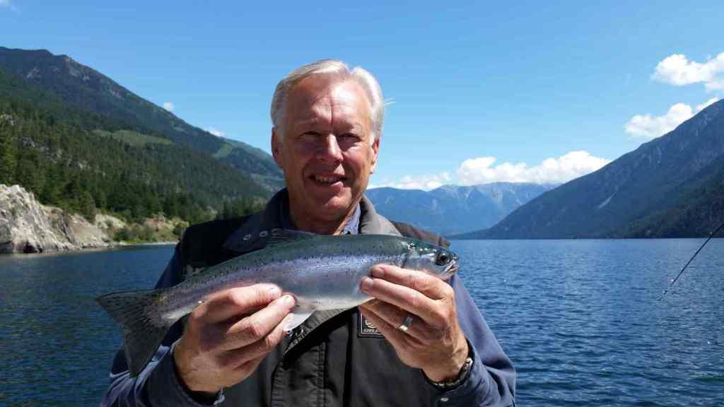 Lake fishing Whistler BC