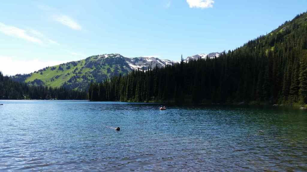 Fly fishing alpine lakes in Whistler BC