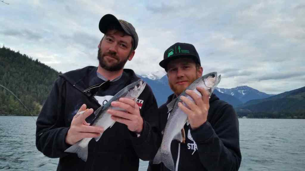 Great Rainbow Trout fishing in BC