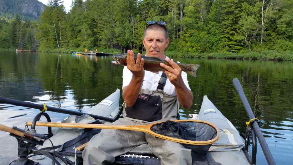 Ivey lake fly fishing in Pemberton BC