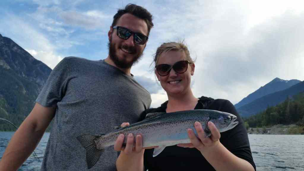 Private fishing trips in BC