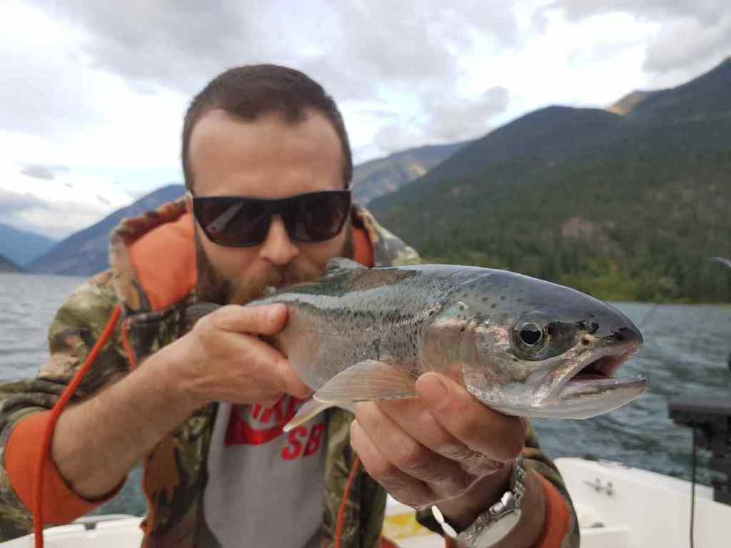 Rainbow Trout fishing in BC