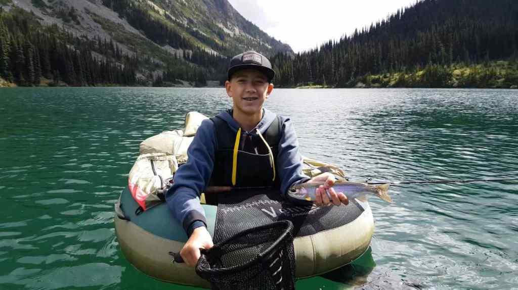 Alpine Lake Rainbow Trout