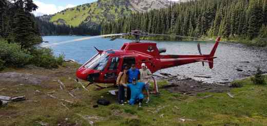 It's Heli Fishing Season in British Columbia Canada