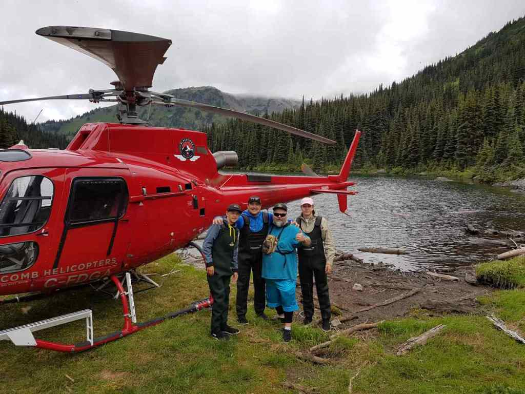 VIP fishing trips in Canada