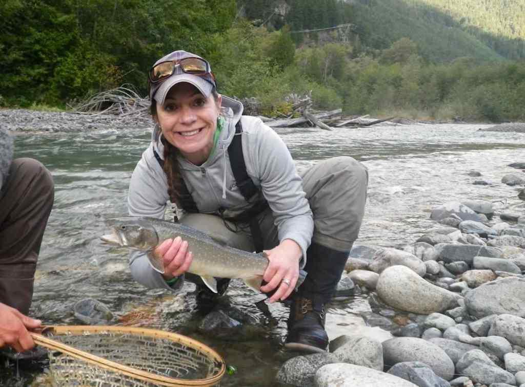 Birkenhead River Best fly fishing Whistler BC