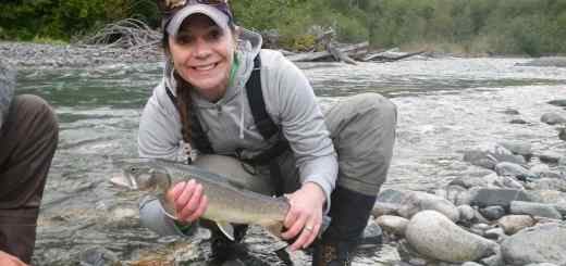 Birkenhead River Best fly fishing Whistler BC