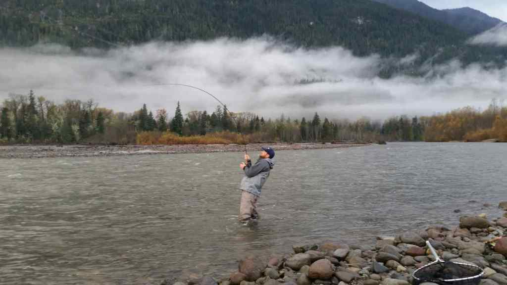 Feeling the Power of a Salmon on a Fly Rod
