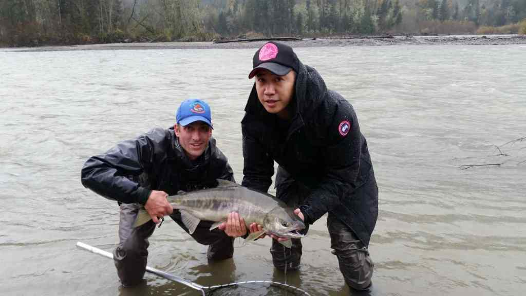 Fly fishing guides in Squamish BC Canada
