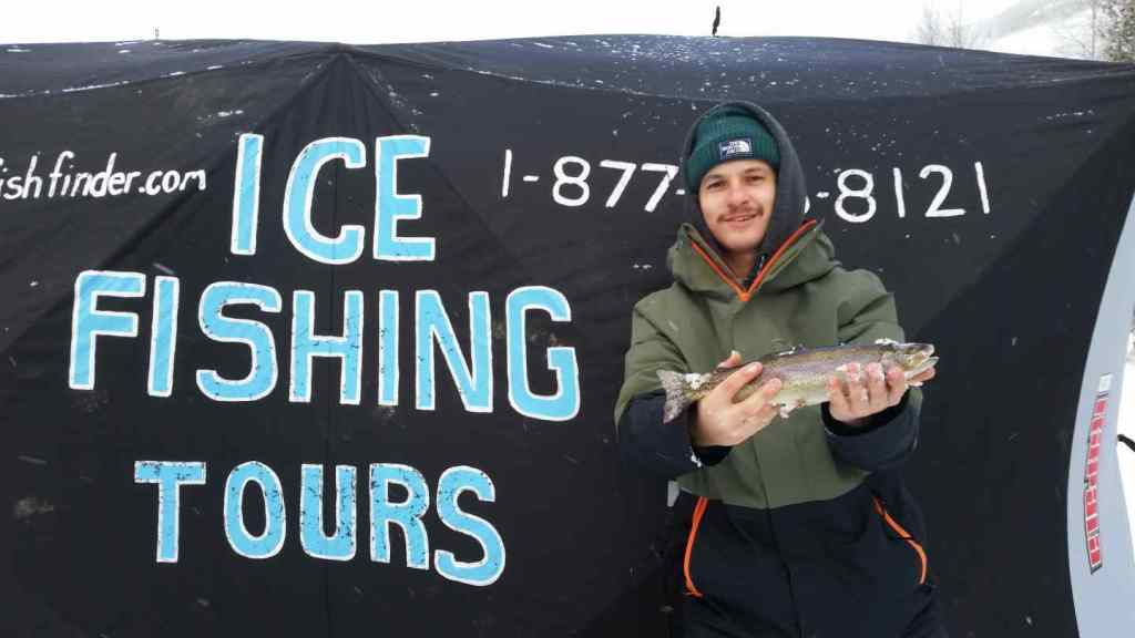 Ice fishing tours in BC