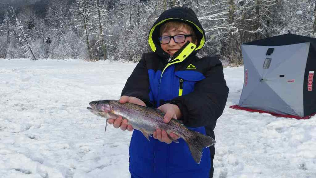 Family Ice fishing trips in Canada
